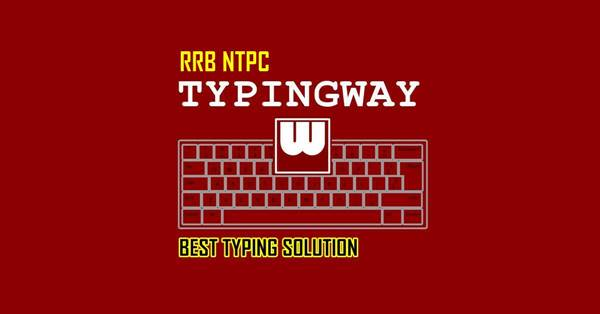 RRB NTPC Typing Test